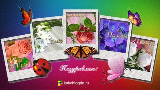 Картинки открытки поздравляю красивые