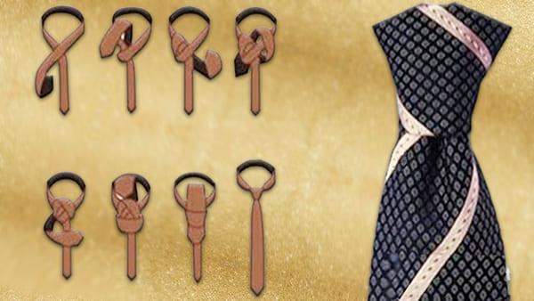 Способы завязать галстук Узел Windsor